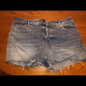 Top shop moto Ashley  Jean shorts
